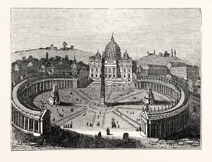 Bird's-Eye View of St. Peter's, Rome