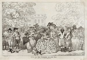 Drawings and Prints, Print, 1784, or The Fashions of the Day, Artist, Publisher, Artist