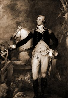 George Washington, full-length portrait by horse, Washington, George, 1732-1799, Horses