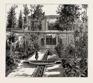 PERSIAN HOUSE, OLD STYLE, 1889